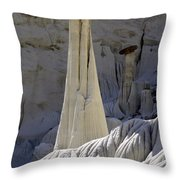 Tower Of Silence 3 Throw Pillow