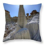 Tower Of Silence Throw Pillow