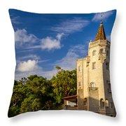 Tower Of St. Sebastian II Throw Pillow