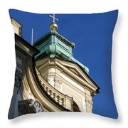 Tower Vienna Austria Throw Pillow