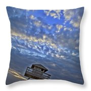 Tower View Throw Pillow