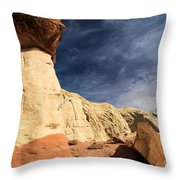 Towering Above The Landscape Throw Pillow