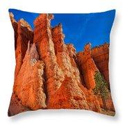 Towering Pinnacles Throw Pillow