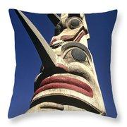 Towering Totem Throw Pillow