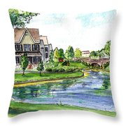 Towne Center Throw Pillow
