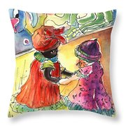 Toy Story In Lanzarote 04 Throw Pillow