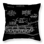 Toy Tank Throw Pillow