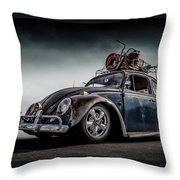 Toyland Express Throw Pillow