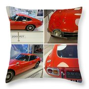 Toyota 2000 Gt Throw Pillow