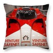 Toyota Gt1 Venture Safenet Throw Pillow