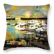 Toys Of The Sea Throw Pillow