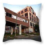 Tr L Park Throw Pillow