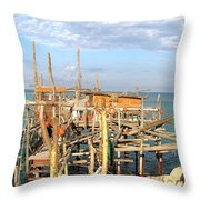 Trabocco 2 Throw Pillow