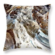 Traces Of Ourselves Throw Pillow