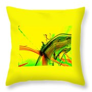 Tracings Throw Pillow
