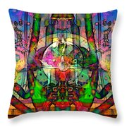 Tracings3 Throw Pillow