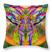 Tracings4 Throw Pillow