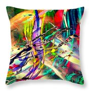 Tracings5 Throw Pillow