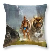 Tracker  Throw Pillow