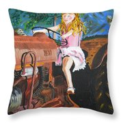 Tracker Ride Throw Pillow
