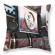 Traction Engine 1 Throw Pillow