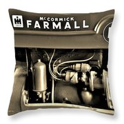 Tractor Throw Pillow