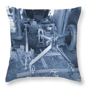 Tractor Series 003 Throw Pillow