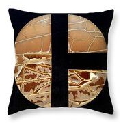 Tractor Triptych Throw Pillow
