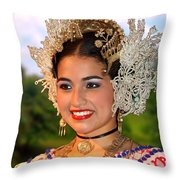 Tradition And Beauty Throw Pillow