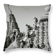 The Towers Throw Pillow