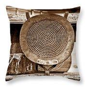 Traditional Light Throw Pillow