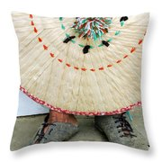 Traditional Woven Throw Pillow