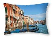 Traghetto Throw Pillow