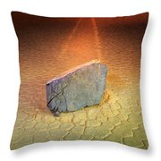 Trail Of Mystery Throw Pillow