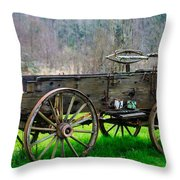 Trailer For Sale Or Rent Unframed Throw Pillow