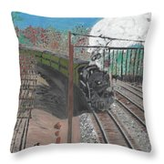 Train 641 Throw Pillow