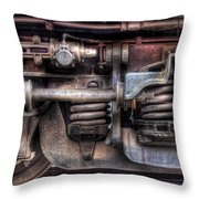 Train - Car - Springs And Things Throw Pillow