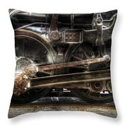 Train - Engine - 1218 - Nw Type-a 1218 Steam 2-6-6-4 Throw Pillow