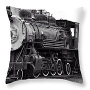 Train In Garibaldi Throw Pillow