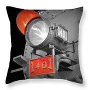 Train Light 1401 Throw Pillow