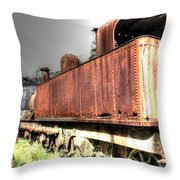 Train To No-where. Throw Pillow