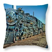 Train Travel Throw Pillow