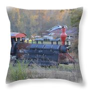 Trains Planes And Automobiles Throw Pillow
