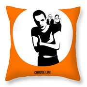 Trainspotting Poster 2 Throw Pillow by Naxart Studio