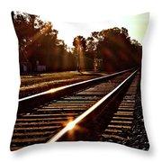Traintastic Throw Pillow
