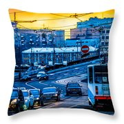Tramway A Throw Pillow