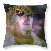 Trancendence Now Throw Pillow
