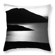 Tranquil Shore Throw Pillow