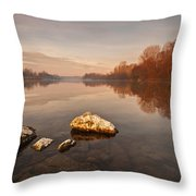 Tranquility Throw Pillow by Davorin Mance
