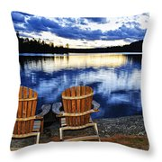 Tranquility Throw Pillow by Elena Elisseeva